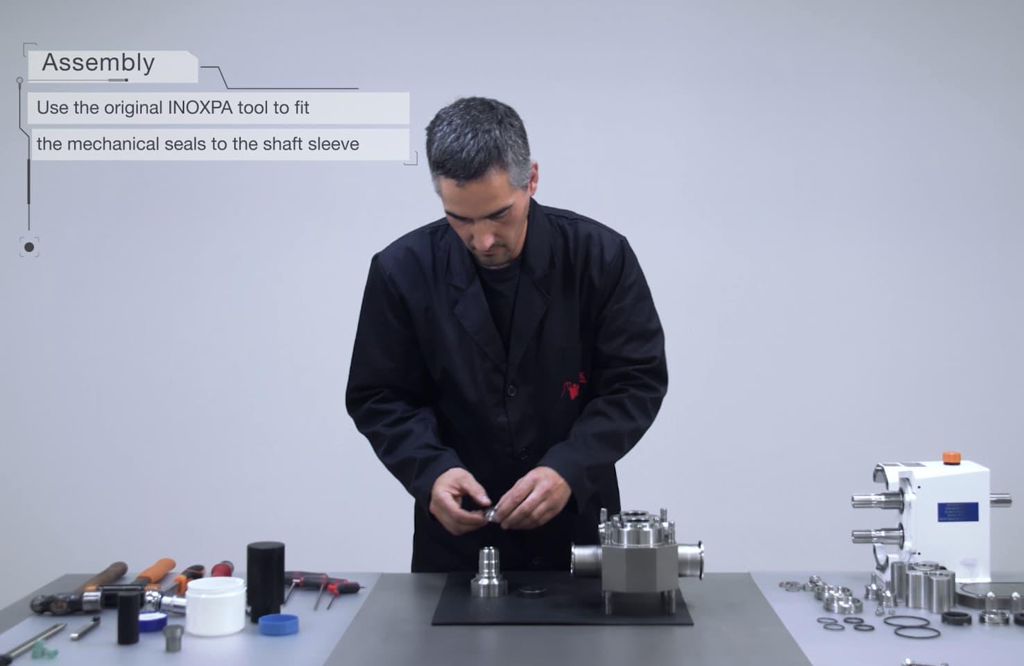 Videos de mantenimiento: bomba lobular SLR